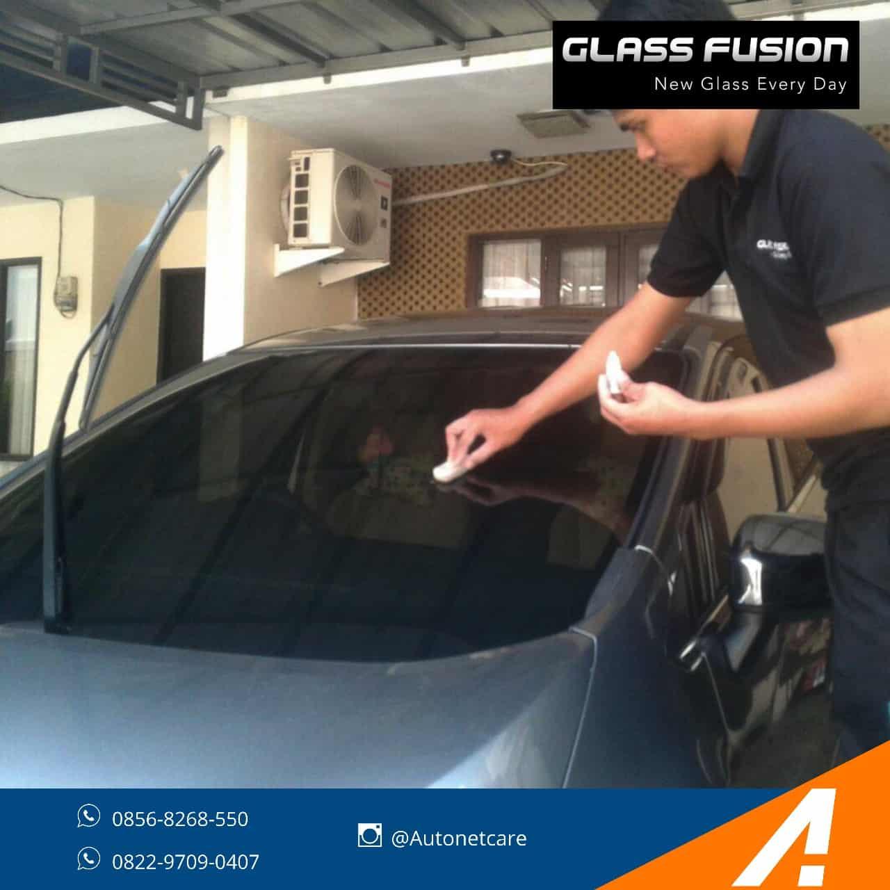 Mengapa Merawat Kaca Mobil dengan Glass Fusion