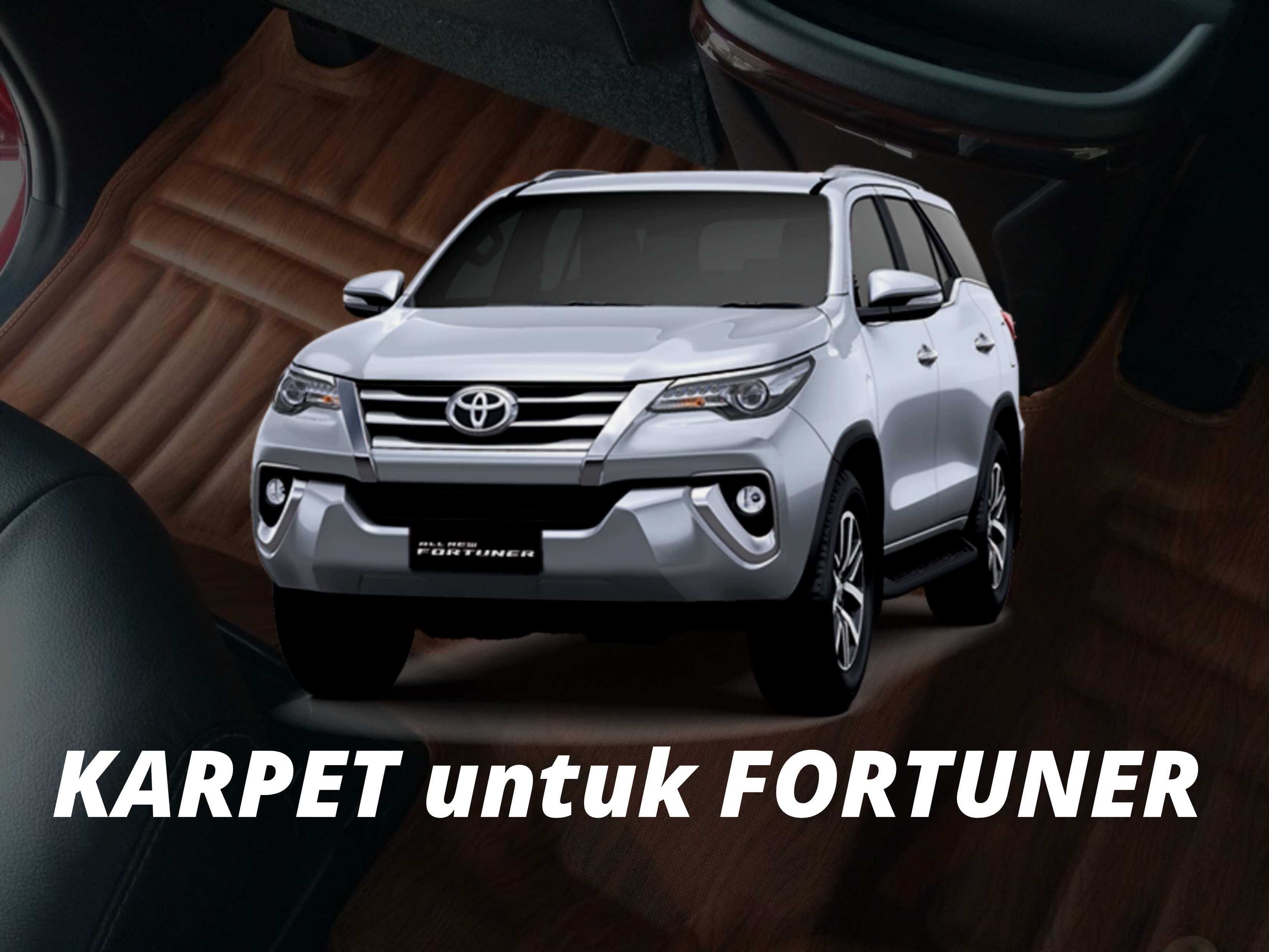Karpet Frontier untuk Toyota Fortuner