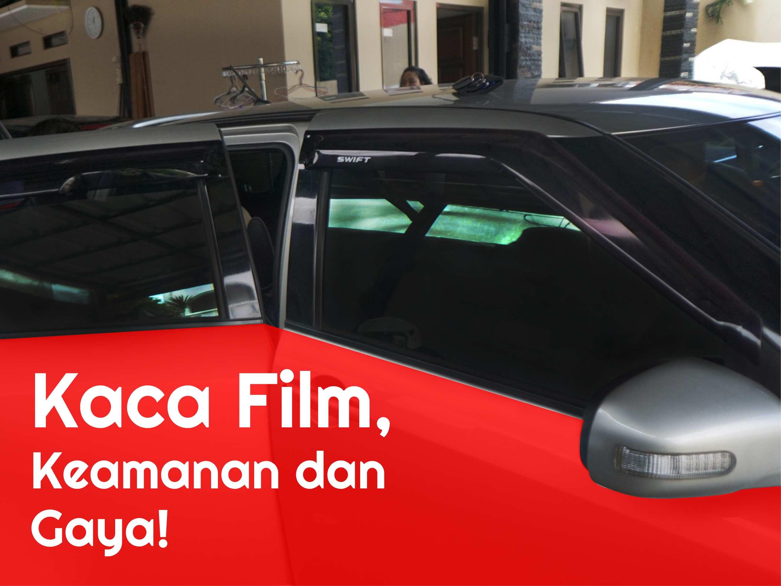 Kaca Film, membuat mobil semakin gaya dan aman!