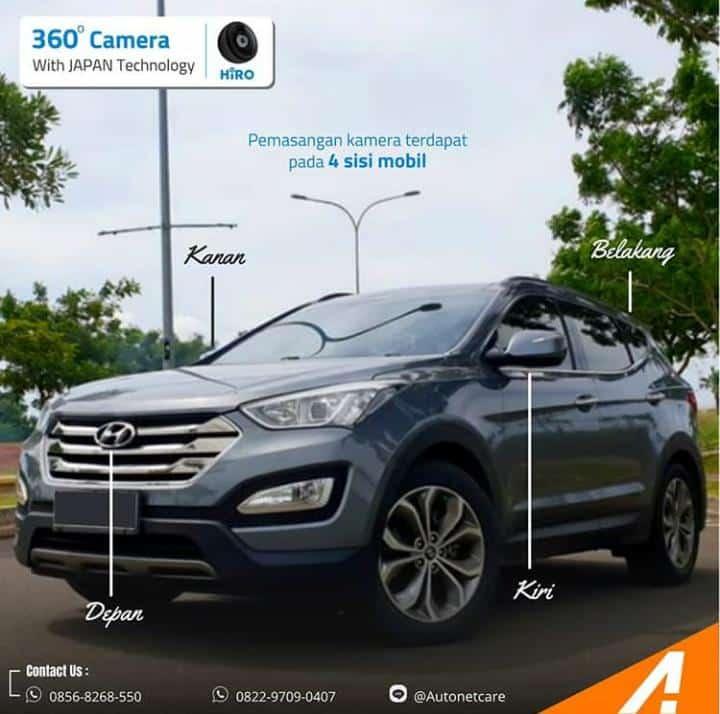 Pasang Kamera 360 di Mobil untuk Keamanan