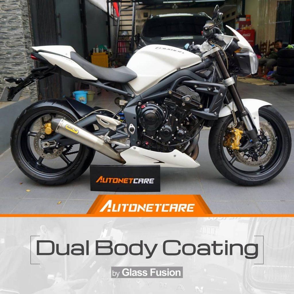 dual layer coating motor
